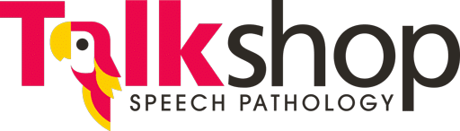 Talk Shop Speech Pathology Logo